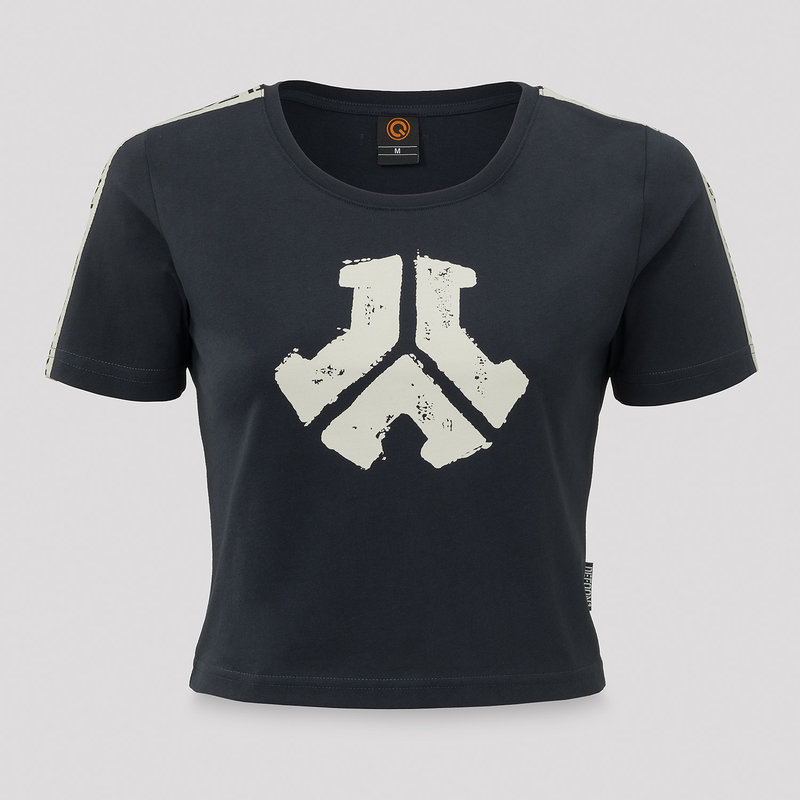 Defqon.1 short tee black/tape