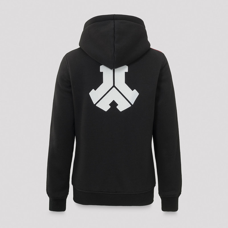 Defqon.1 boyfriend hooded zip black