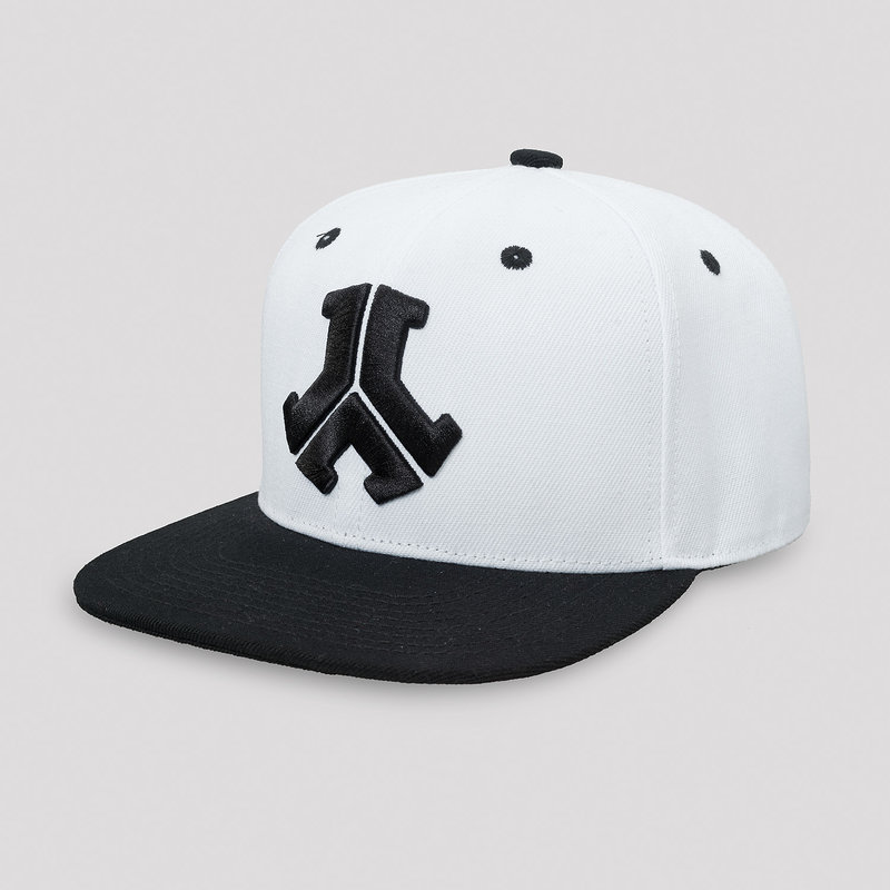 Defqon.1 snapback white/black