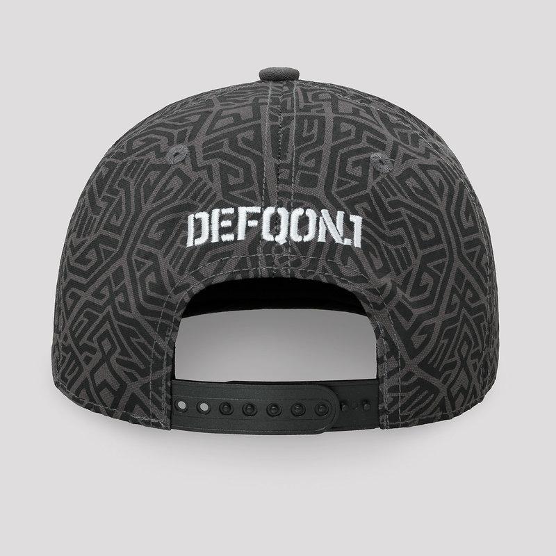 Defqon.1 snapback grey/pattern