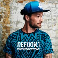 Defqon.1 snapback blue/gradient