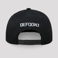 Defqon.1 snapback cap black/red
