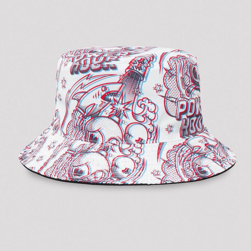Defqon.1 Power Hour bucket hat white/artwork