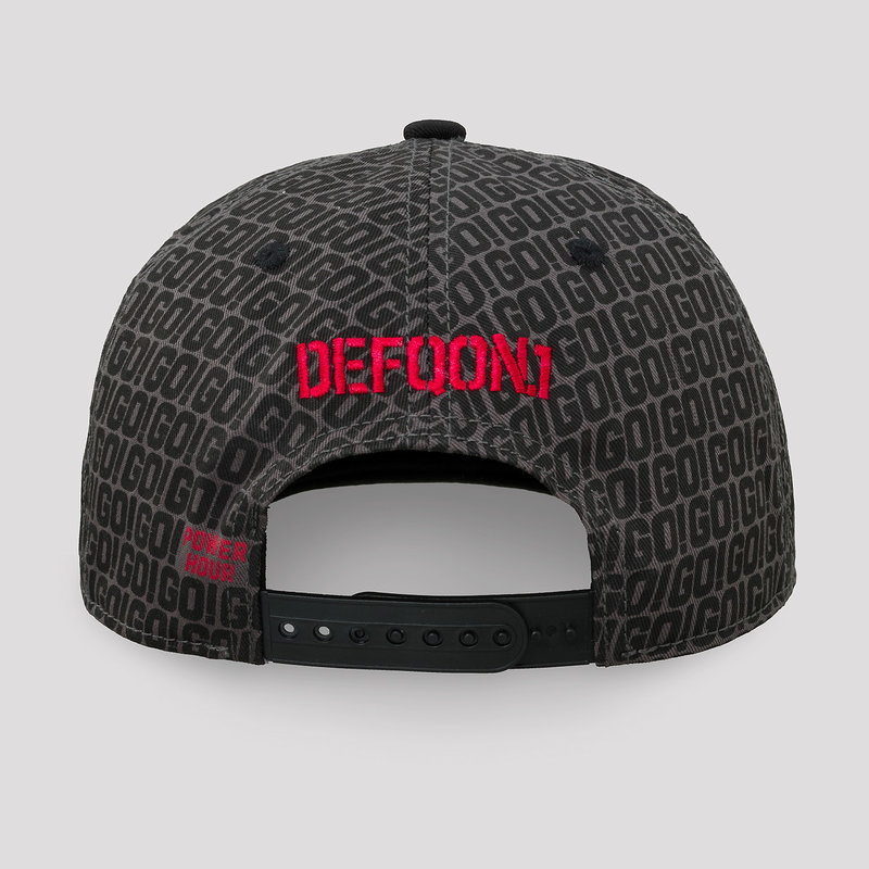 Defqon.1 Power Hour snapback gray