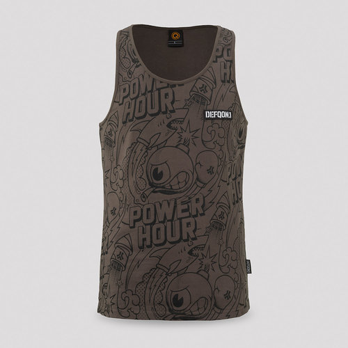 Defqon.1 Power hour tanktop anthracite