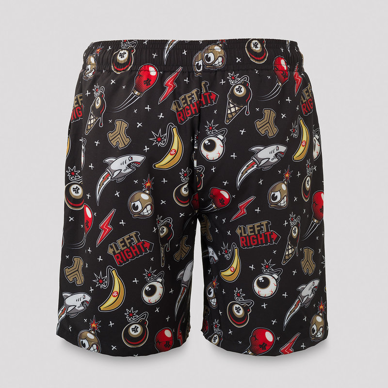 Defqon.1 Power Hour short full color/pattern