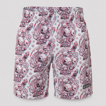 DEFQON.1 Defqon.1 Power Hour short white/pattern