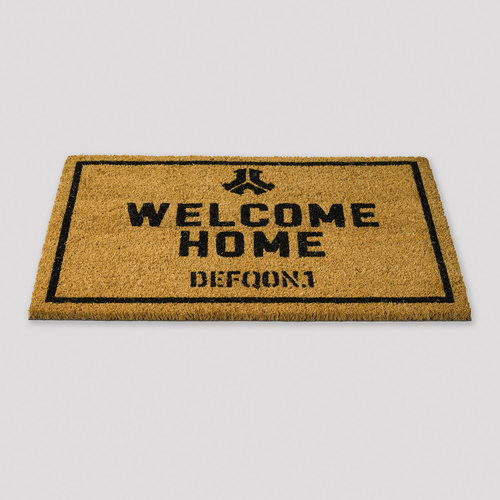 Defqon.1 doormat brown/black