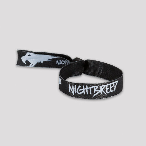 Nightbreed woven bracelet wolves