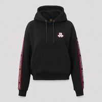 Defqon.1 boyfriend hoodie black tape