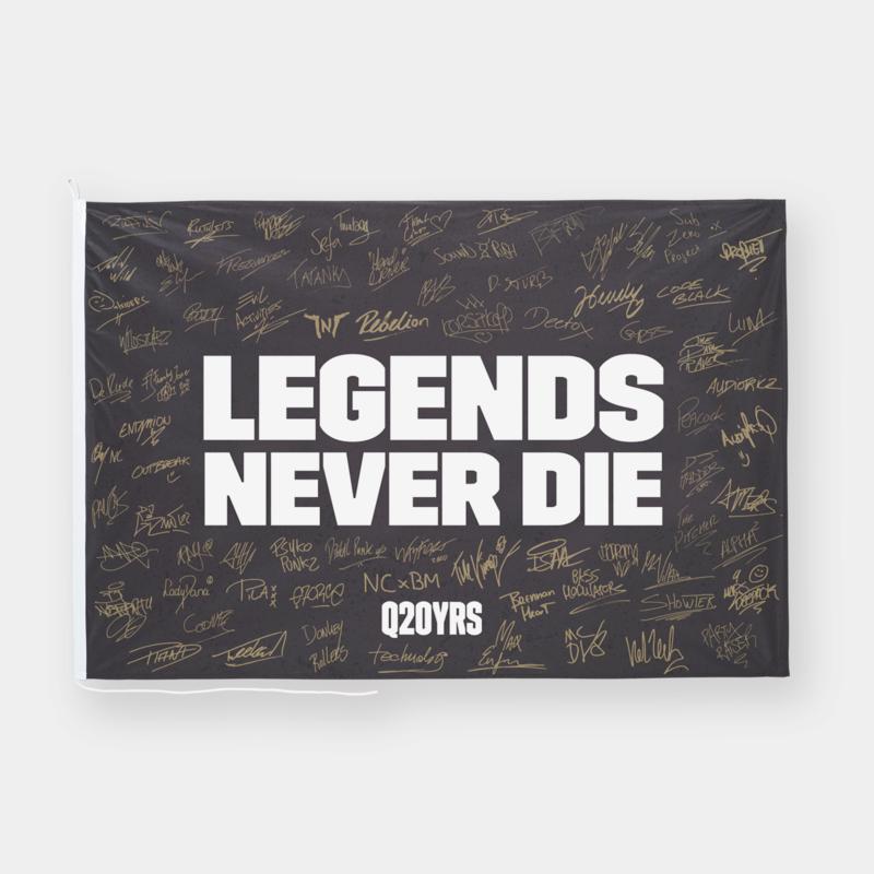 Q20YRS Legends flag