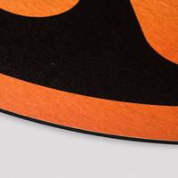 Q-dance Cut out orange/black 50x50