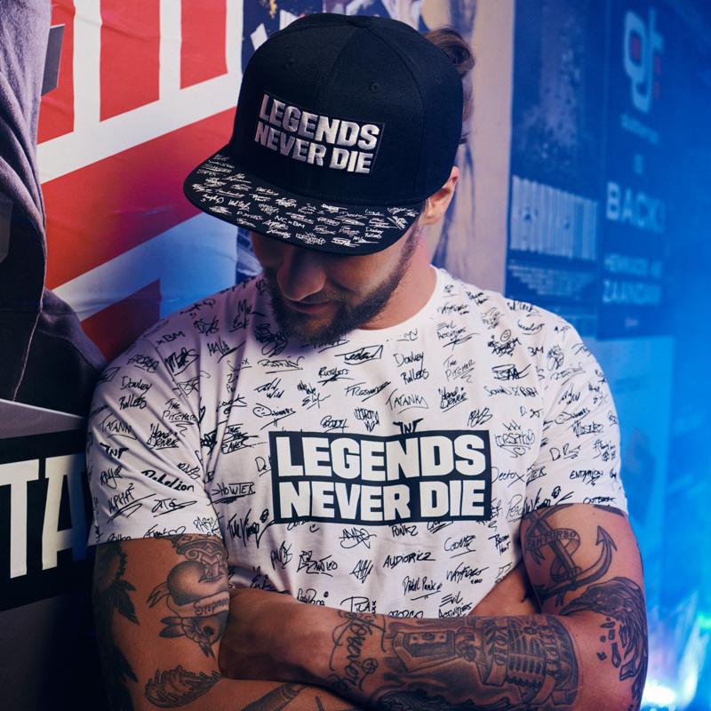Q20YRS Legends snapback