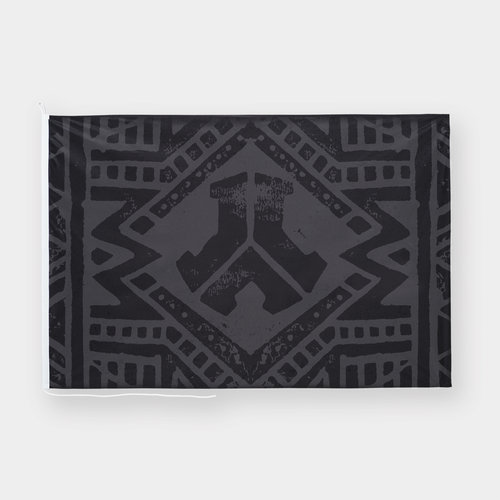 Defqon.1 flag black/pattern