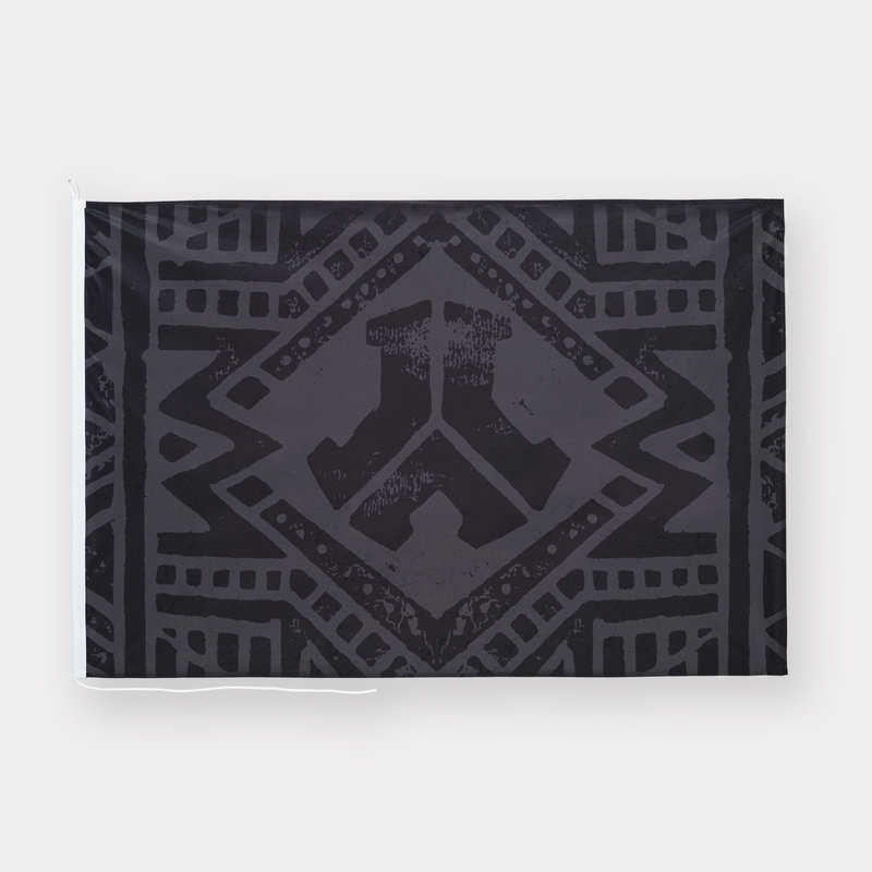 Defqon.1 flag black/pattern