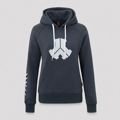 Defqon.1 boyfriend hoodie blue/white