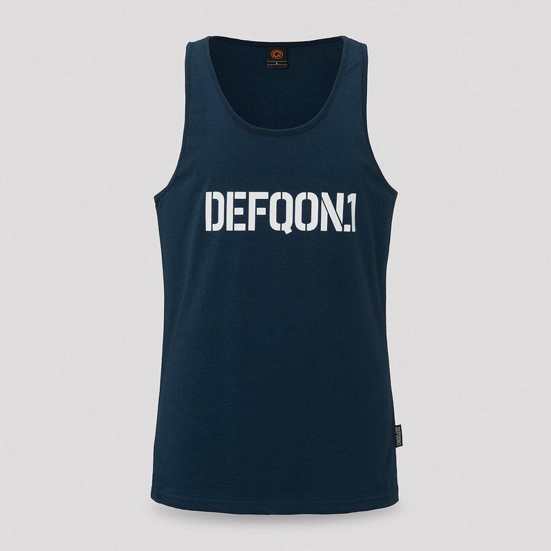 Defqon.1 tanktop navy/white