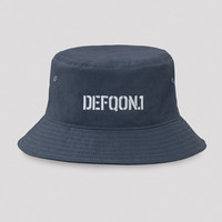 Defqon.1 bucket hat blue/white