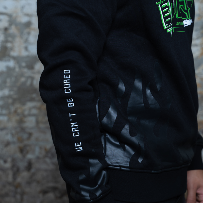 Rebelion Overdose hoodie black