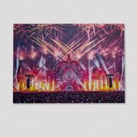 Defqon.1 Fireworks stage visual 70x50