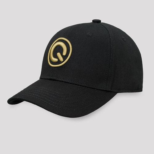 Q20YRS baseball cap black/gold