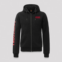 Defqon.1 hooded zip black/red