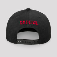 Qapital snapback black/red