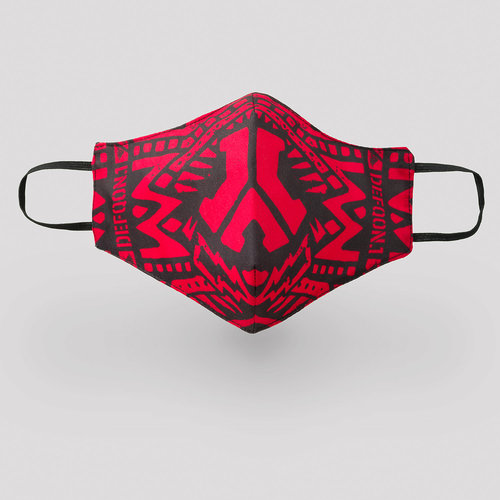 Defqon.1 Face mask red