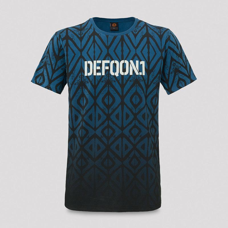Defqon.1 t-shirt blue/white