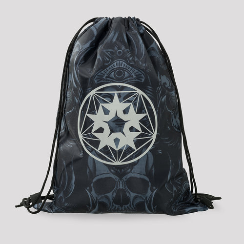 Qlimax stringbag grey/blue