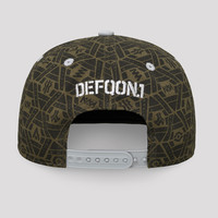 Defqon.1 snapback green/grey