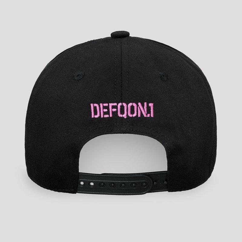 Defqon.1 baseball cap black/pink