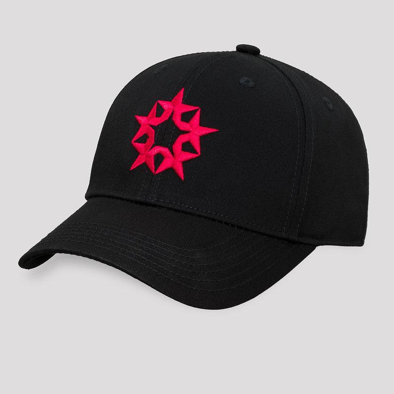 Qlimax baseball cap black/red