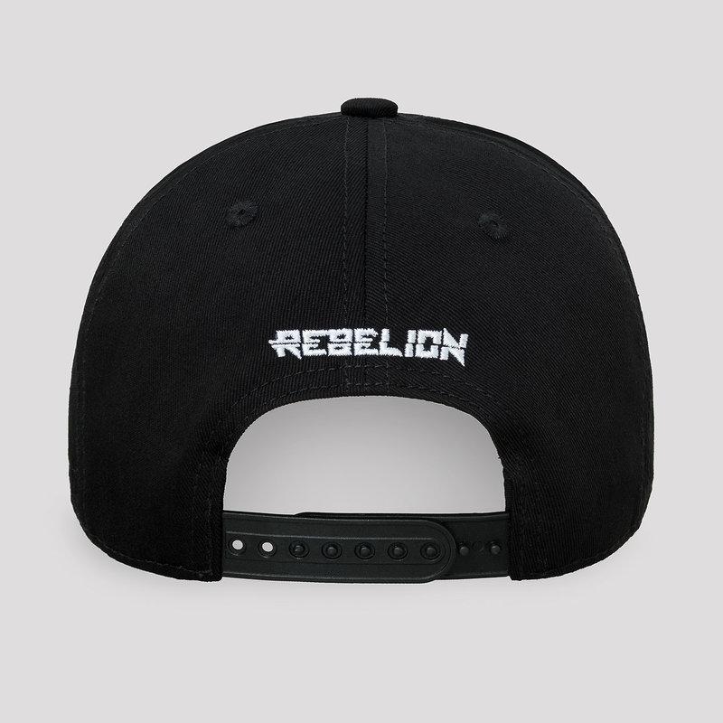 Rebelion baseball cap black/red