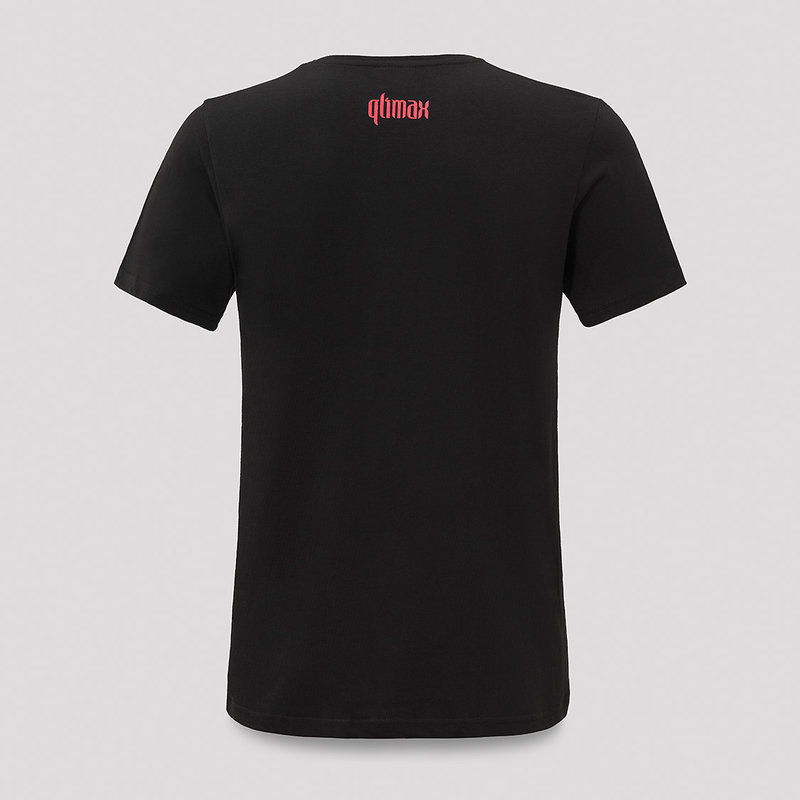 Qlimax t-shirt black/red