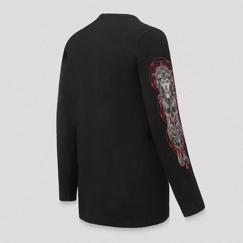 Qlimax longsleeve black/red