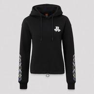 Defqon.1 hoodie black/purple