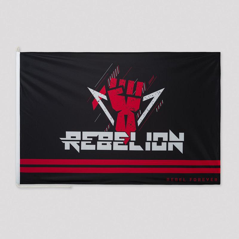Rebelion flag black/red