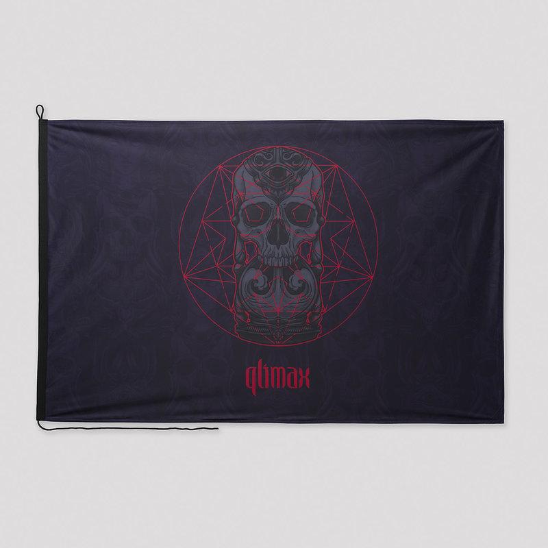Qlimax flag black/red
