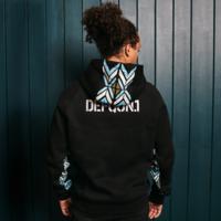 Defqon.1 hoodie black/blue