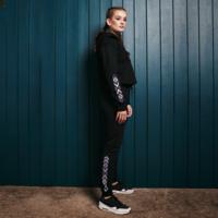 Defqon.1 jogging pants black/purple