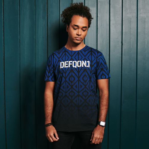 Defqon.1 t-shirt blue/white