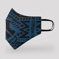 Defqon.1 face mask blue