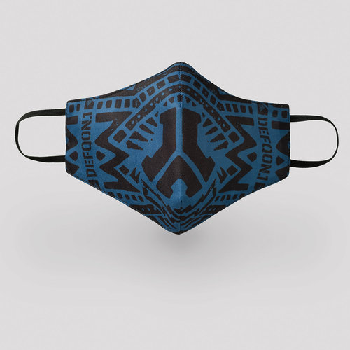 Defqon.1 face mask blue