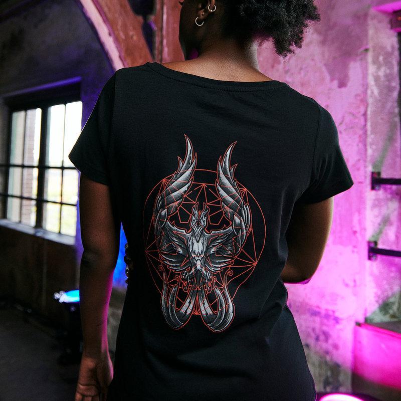 Qlimax t-shirt black/red