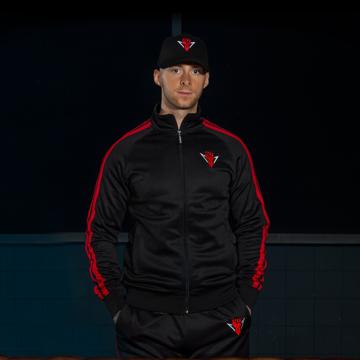 Rebelion Rebelion track jacket black/red
