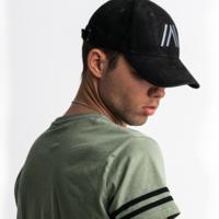Atmozfears baseball cap black/suede