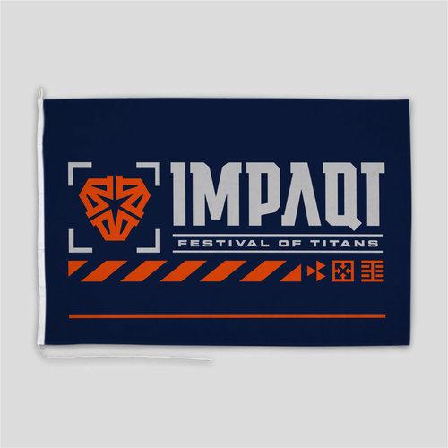 Impaqt flag blue/orange