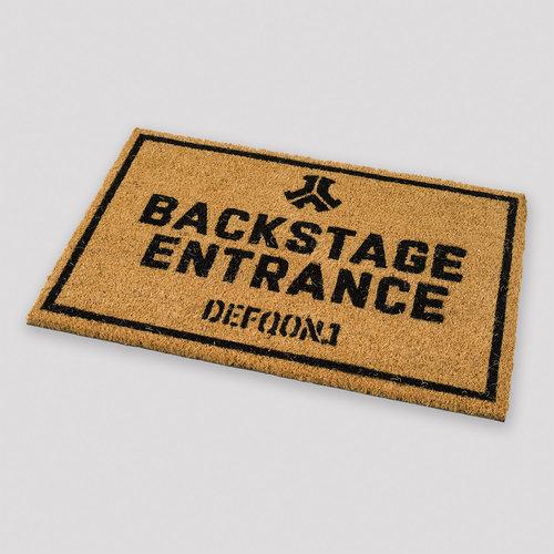 Defqon.1 doormat backstage