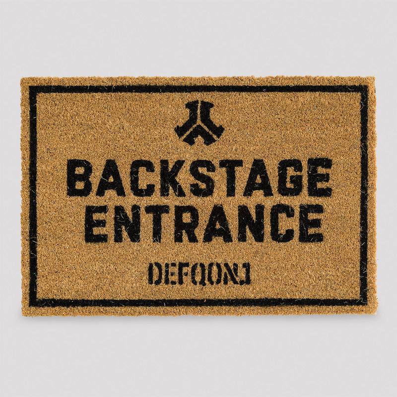 Defqon.1 doormat backstage
